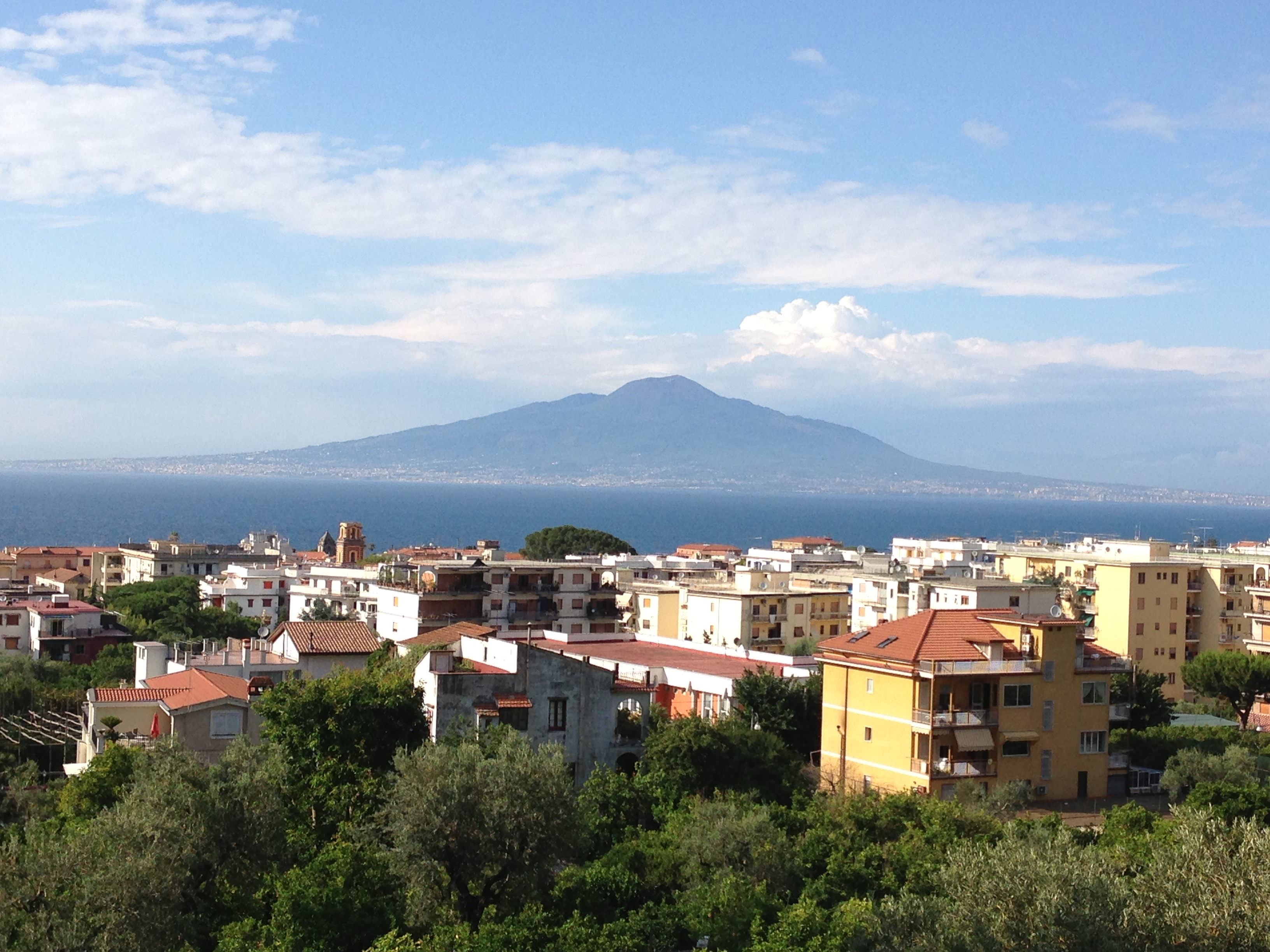 Hilton Sorrento Palace Sea View Room of Vesuvius