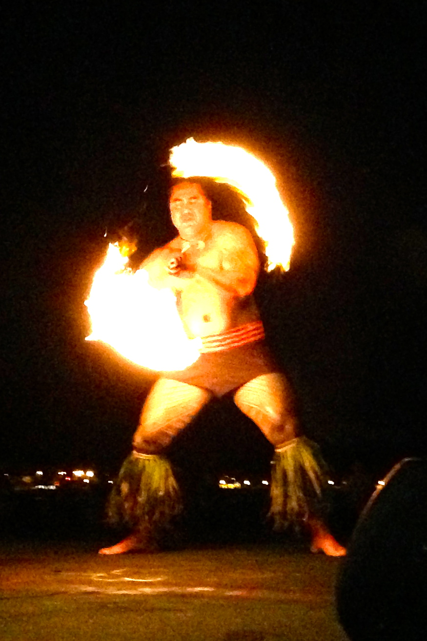 Royal Hawaiian Luau Fire Dance
