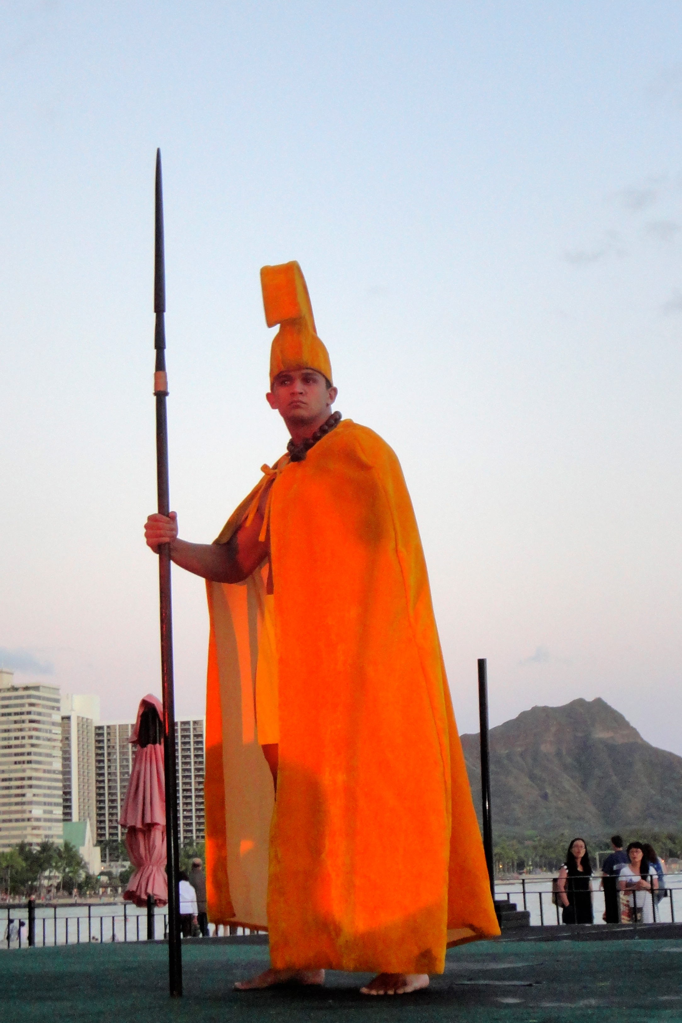 Royal Hawaiian Luau King Kamehame