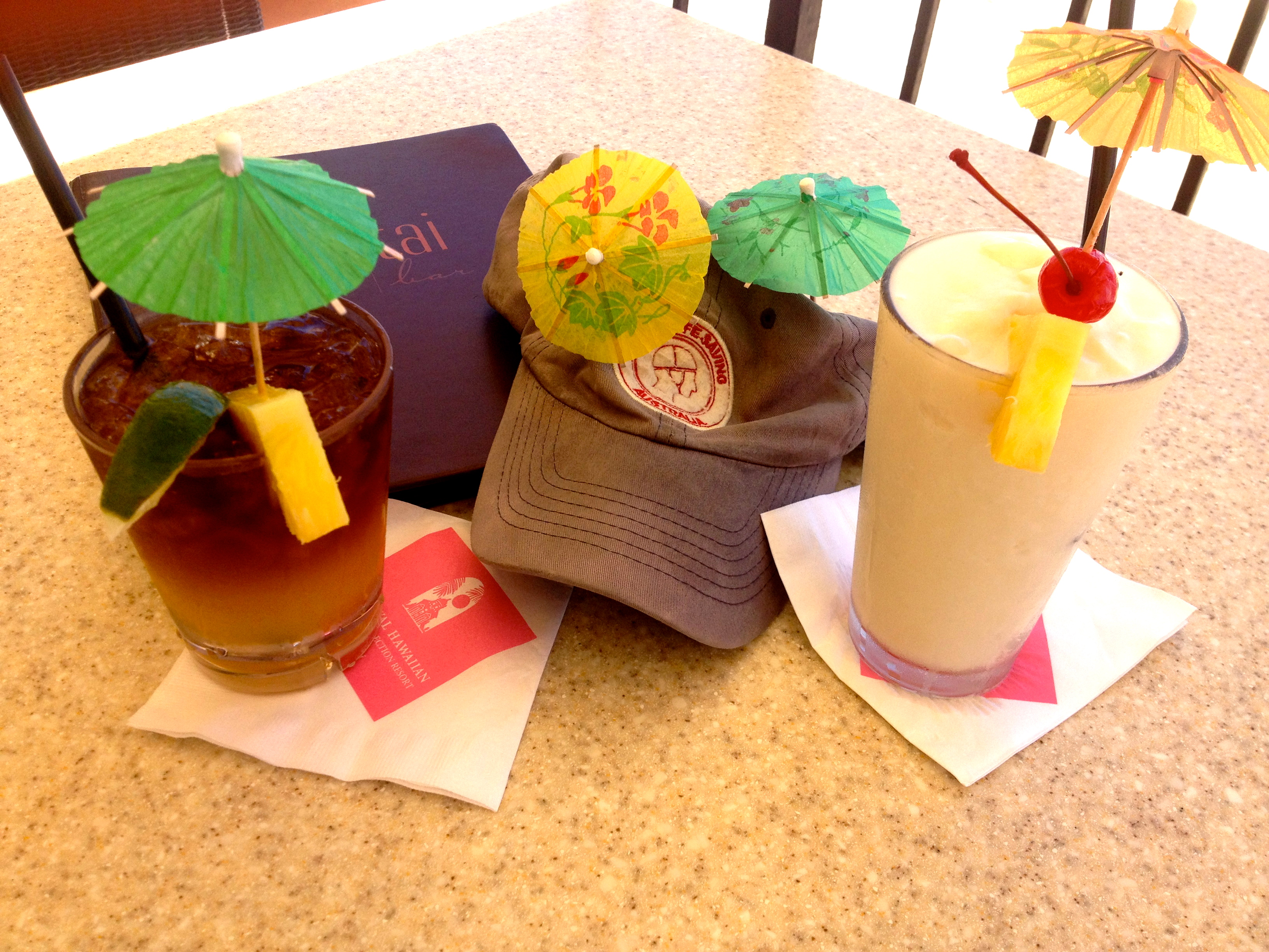Royal Hawaiian Mai Tai Bar Drinks
