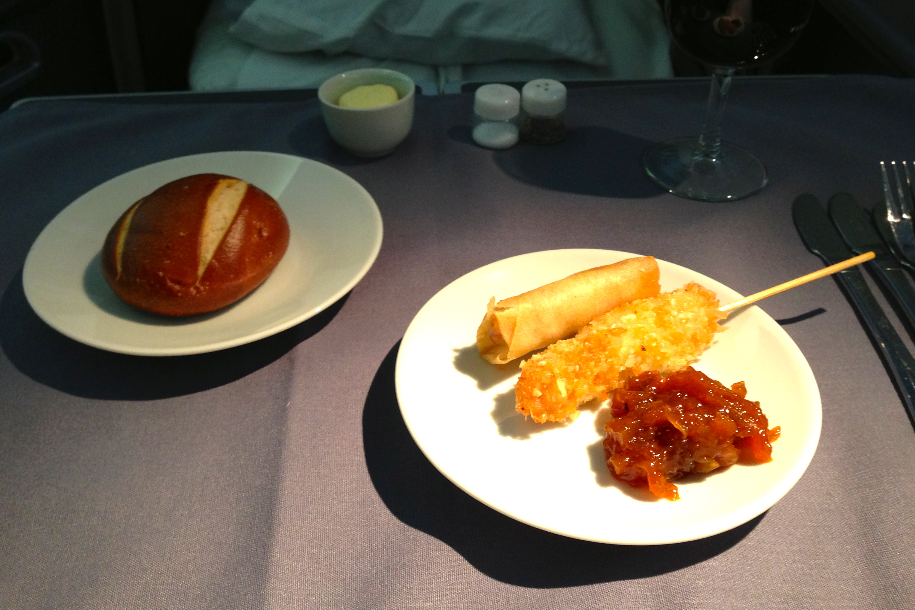 United First Class Appetizer