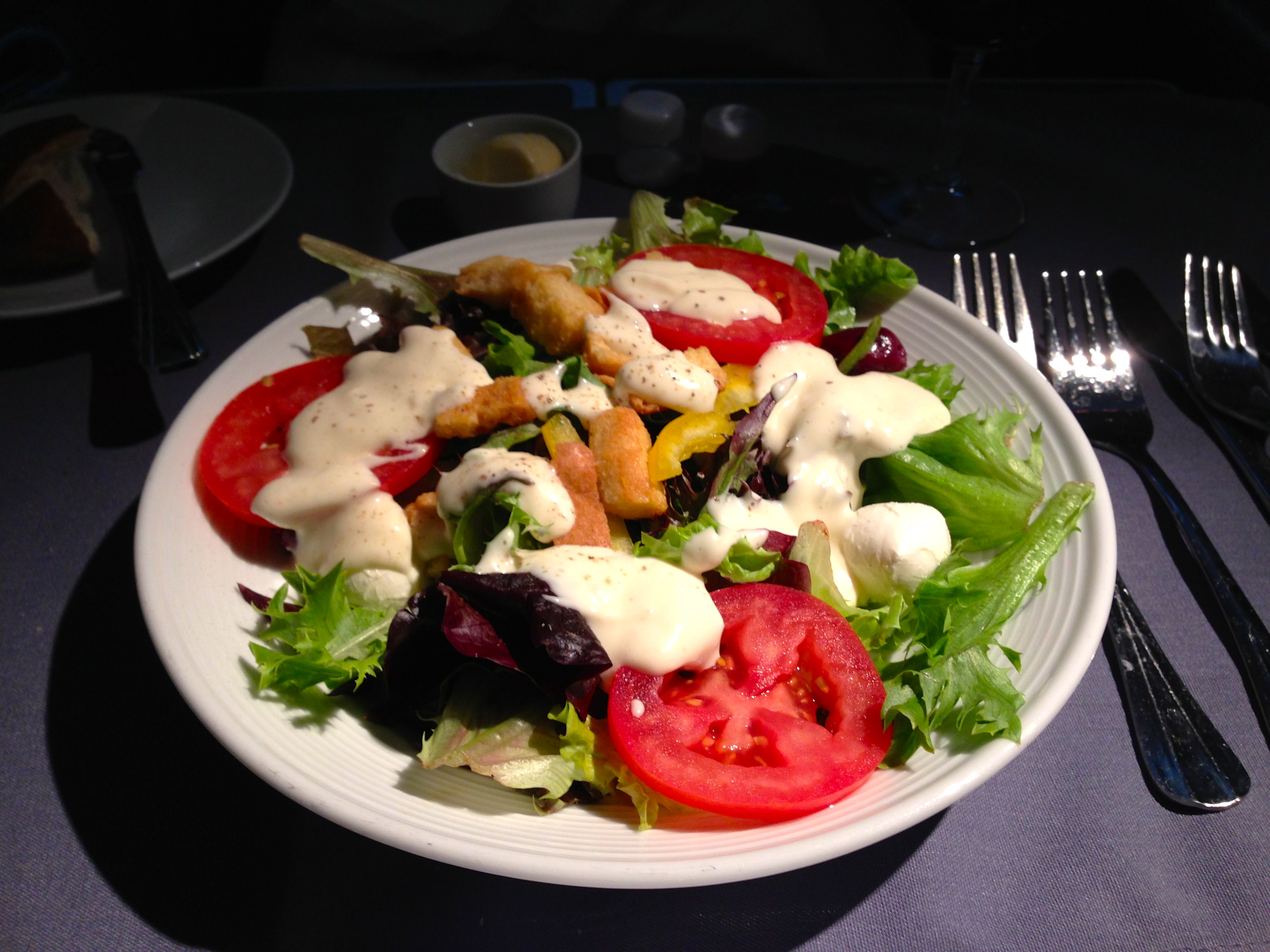 United First Class Salad