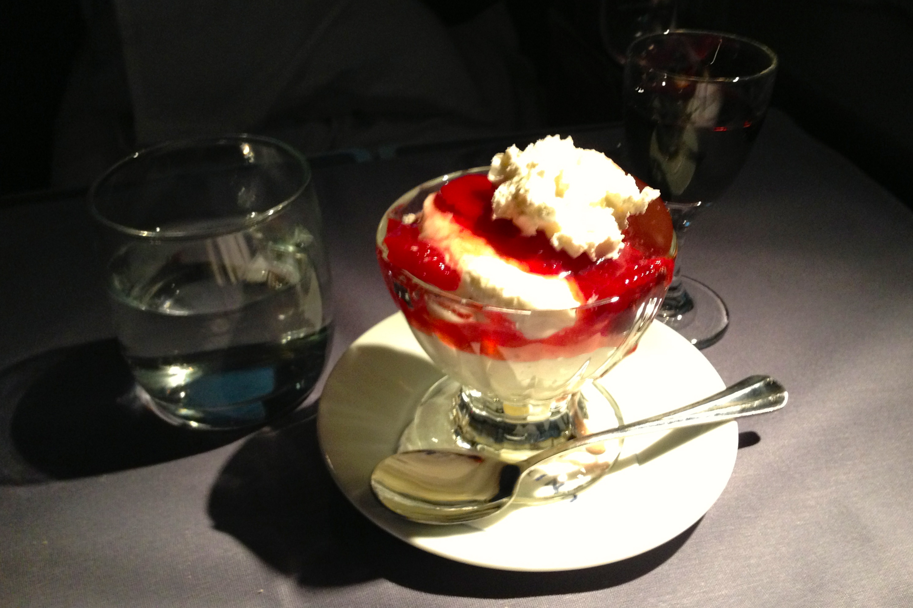 United First Class Sundae