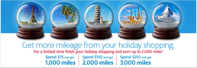 AAdvantage Shopping 2013 Holiday Bonus