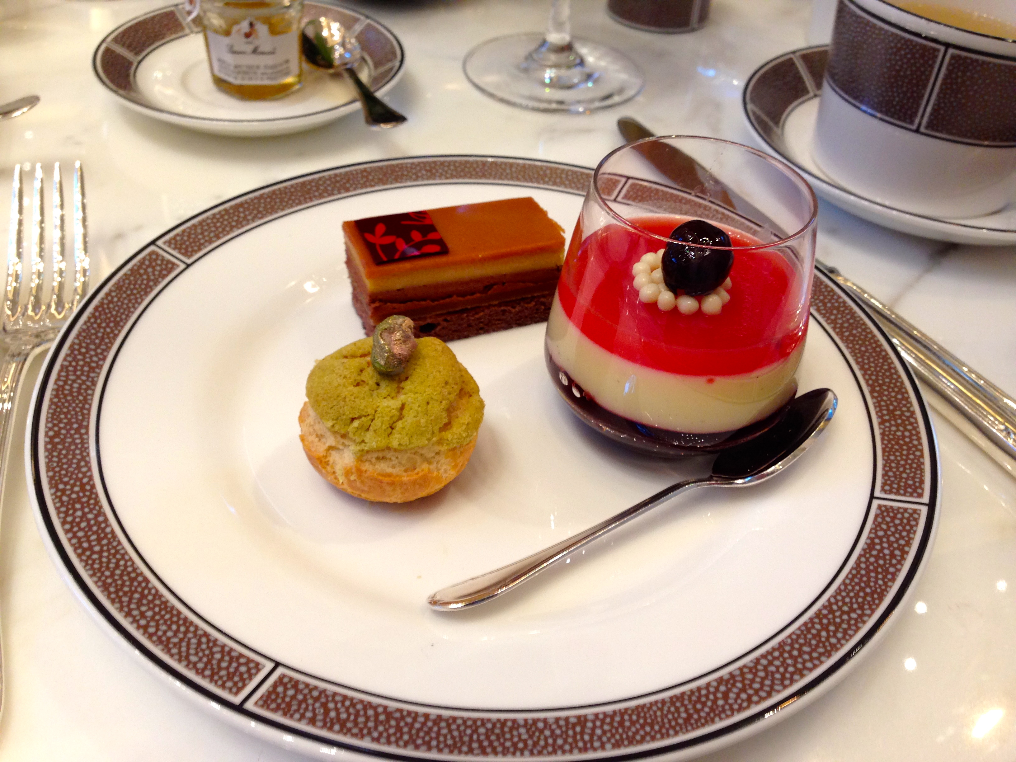 Afternoon Tea Desserts Langham Hotel Chicago