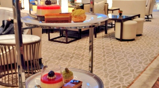 Afternoon Tea at the Langham Hotel – A Tale of Two Teas