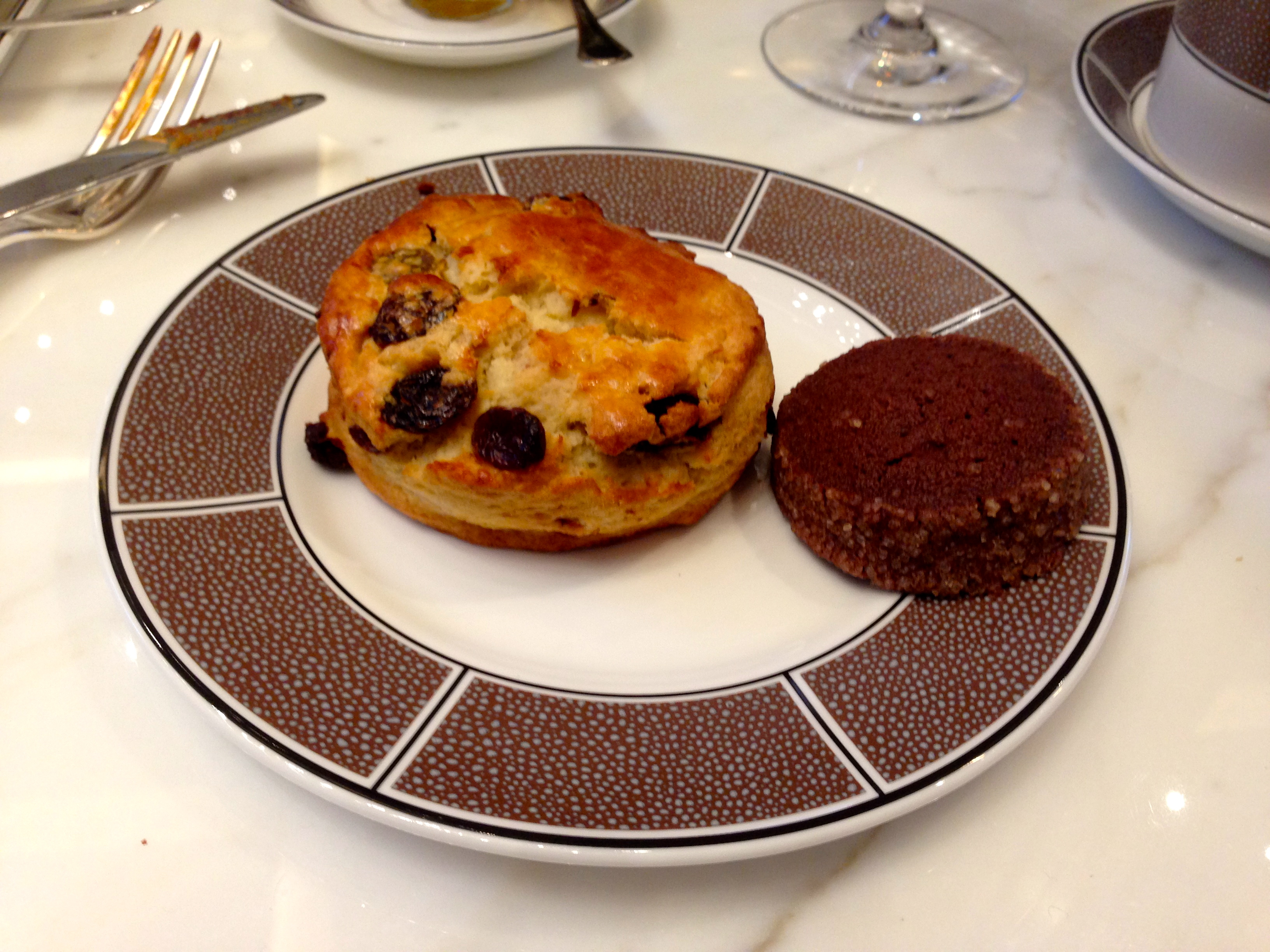 Afternoon Tea Scones Langham Hotel Chicago