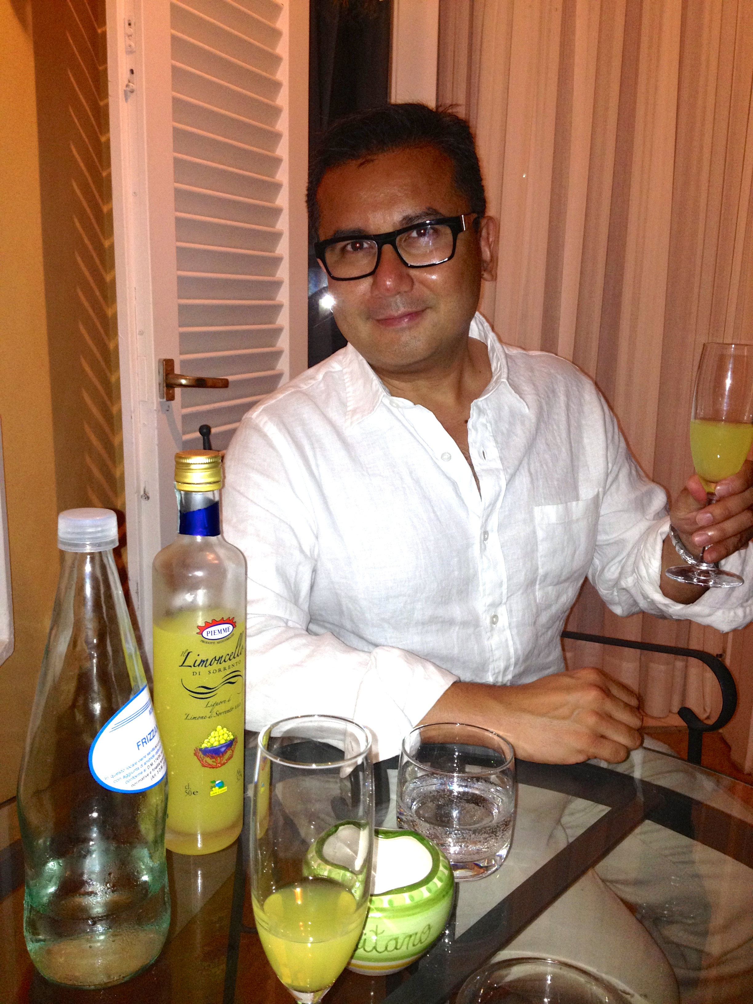 Hotel Marincanto Positano Evening Limoncello Nightcap on Balcony