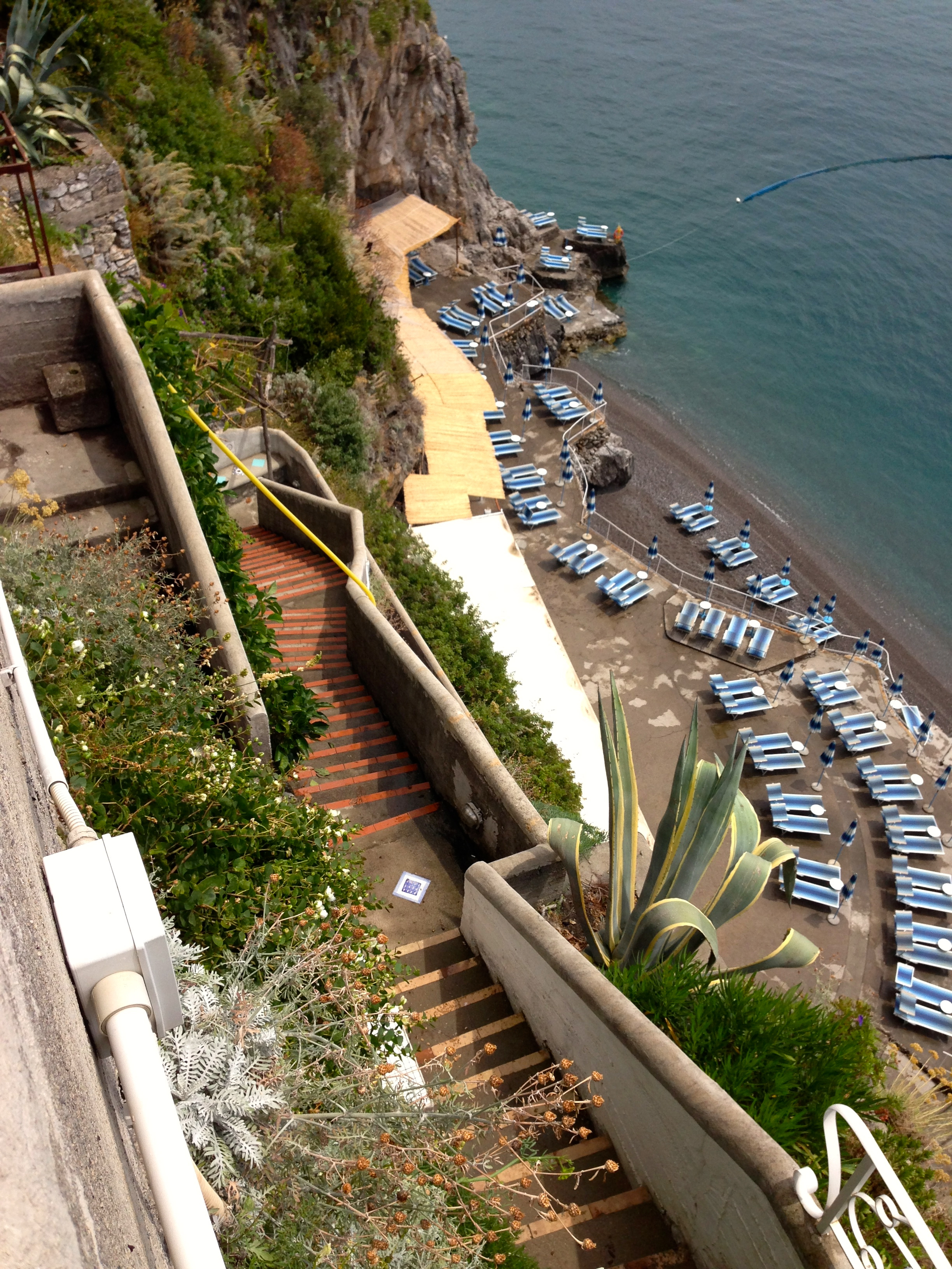 Hotel Marincanto Positano Stairs down to Beach