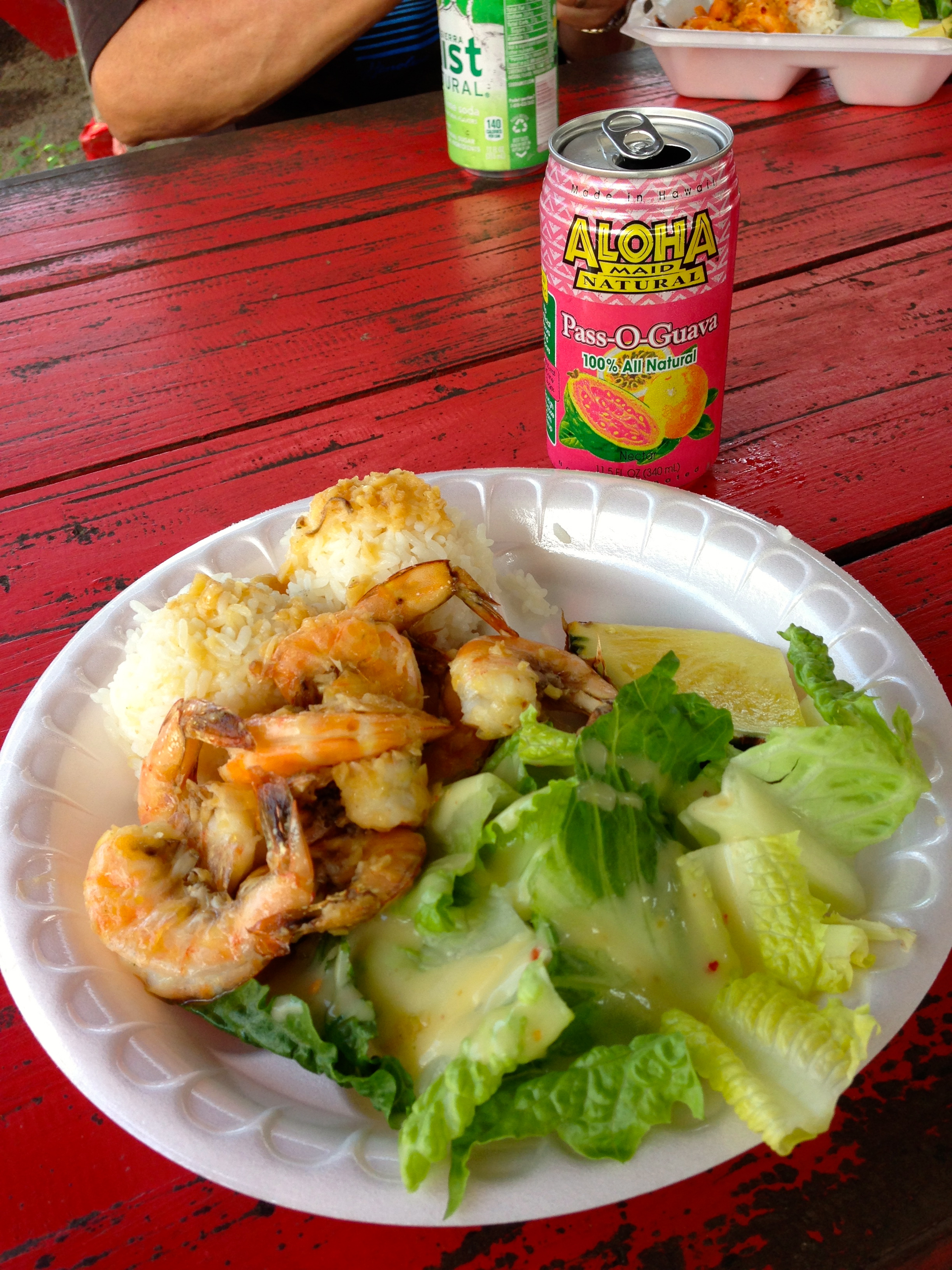 Oahu Spot Tours Shrimp Truck Lunch