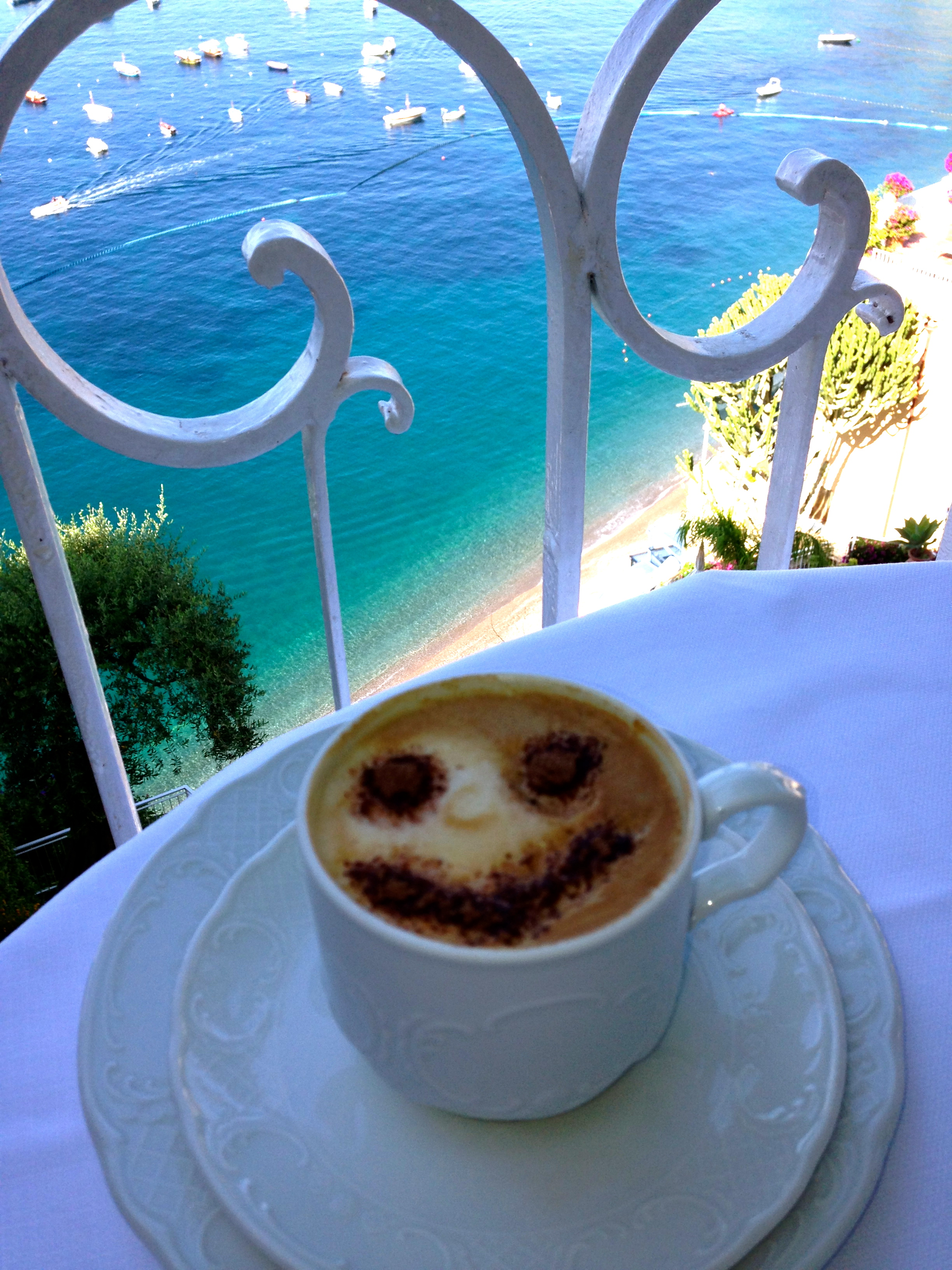 Hotel Marincanto Positano View at Breakfast
