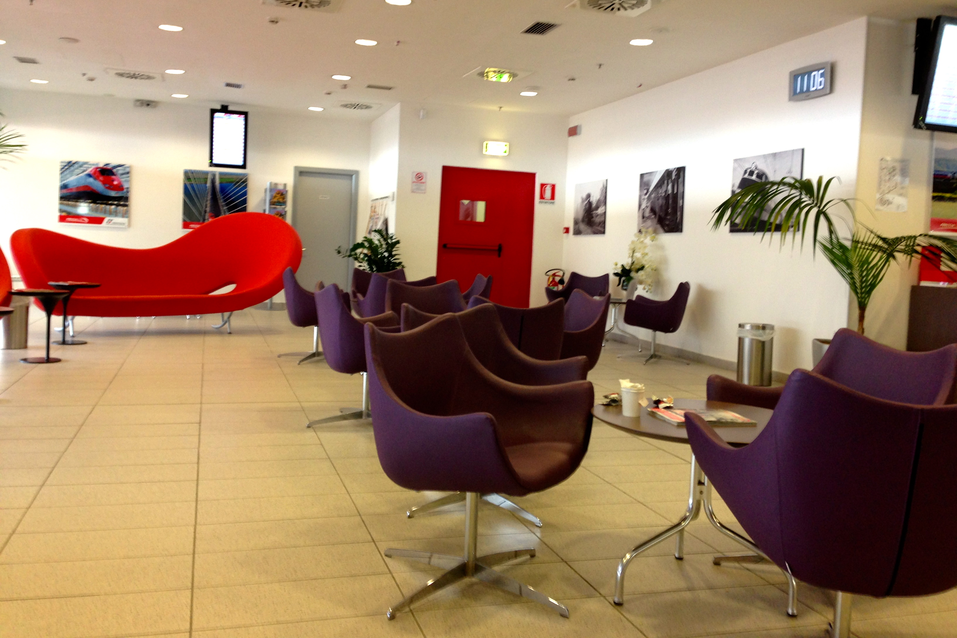 Trenitalia FrecciaClub Executive Lounge Naples Central Napoli Centrale