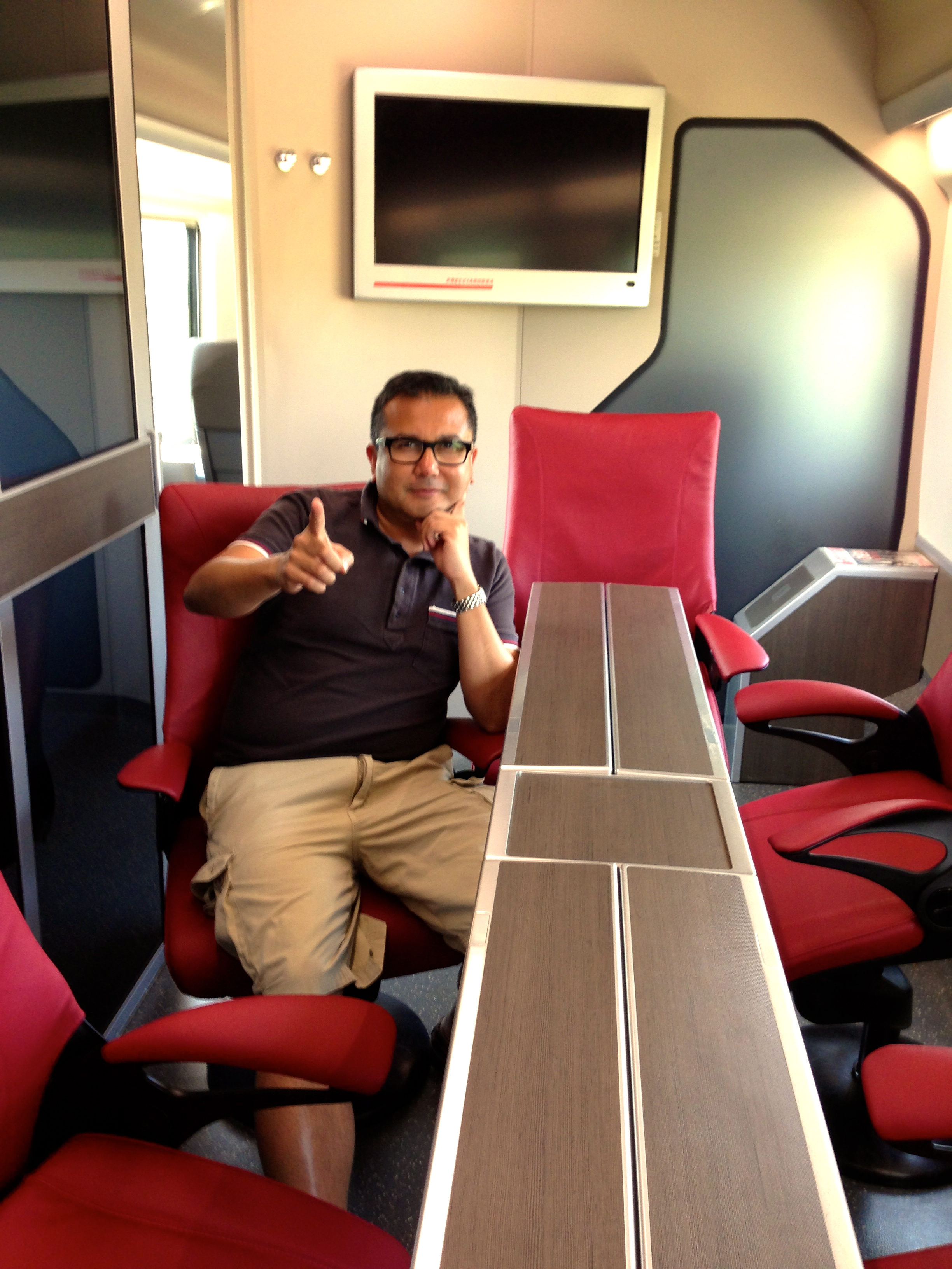 Trenitalia Frecciarossa Executive Class Conference Room