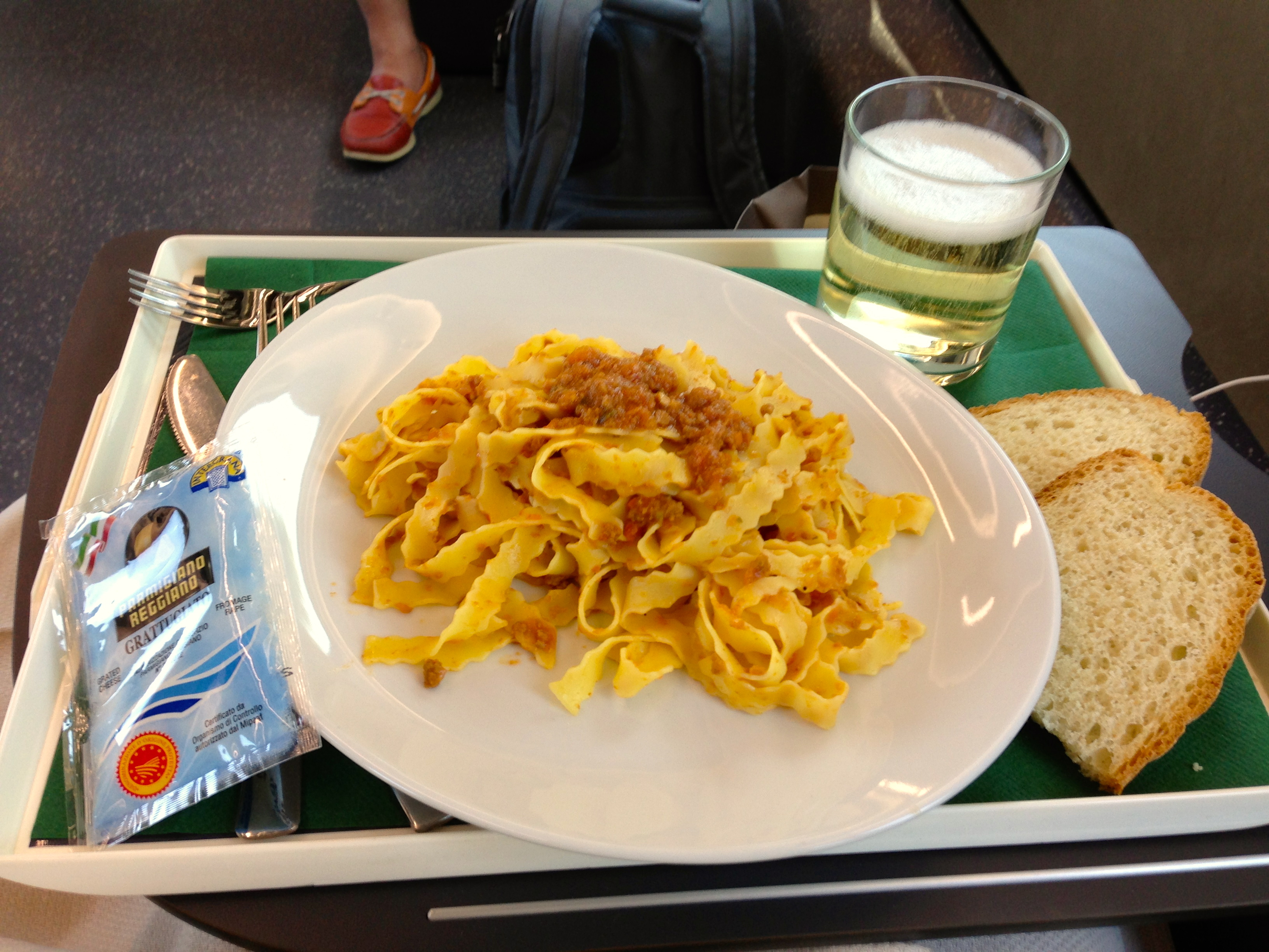 Trenitalia Frecciarossa Executive Class Meal
