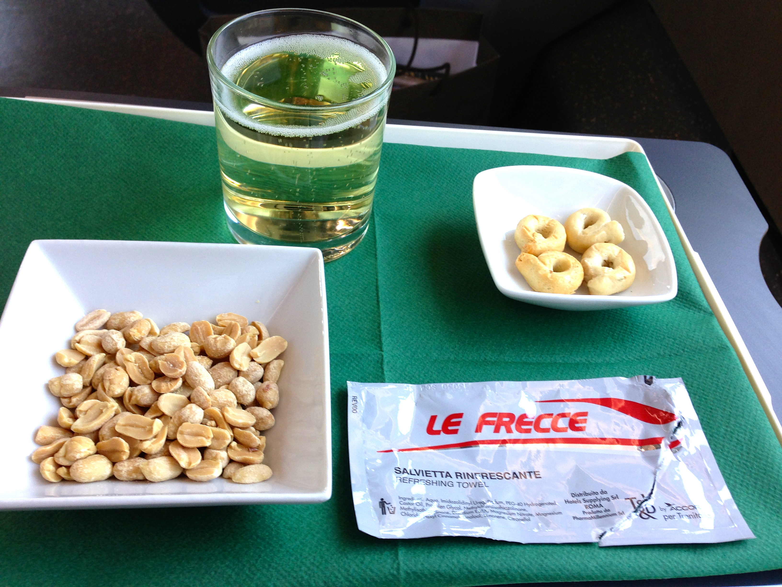 Trenitalia Frecciarossa Executive Class Snack