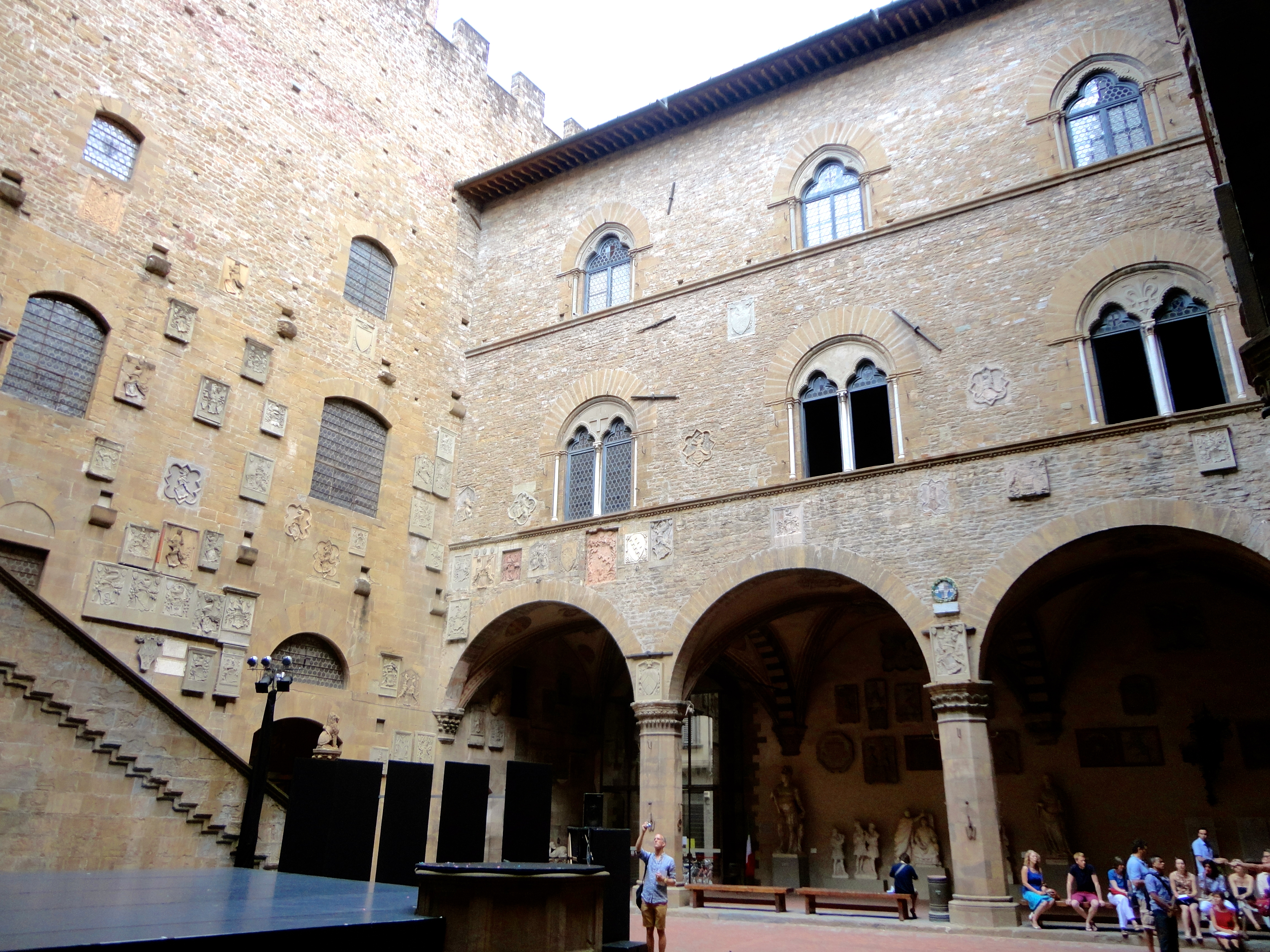 Bargello Museum Courtyard Florence