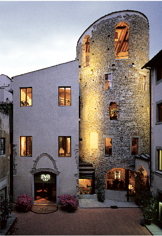 Hotel Brunelleschi Florence Pagliazza Tower