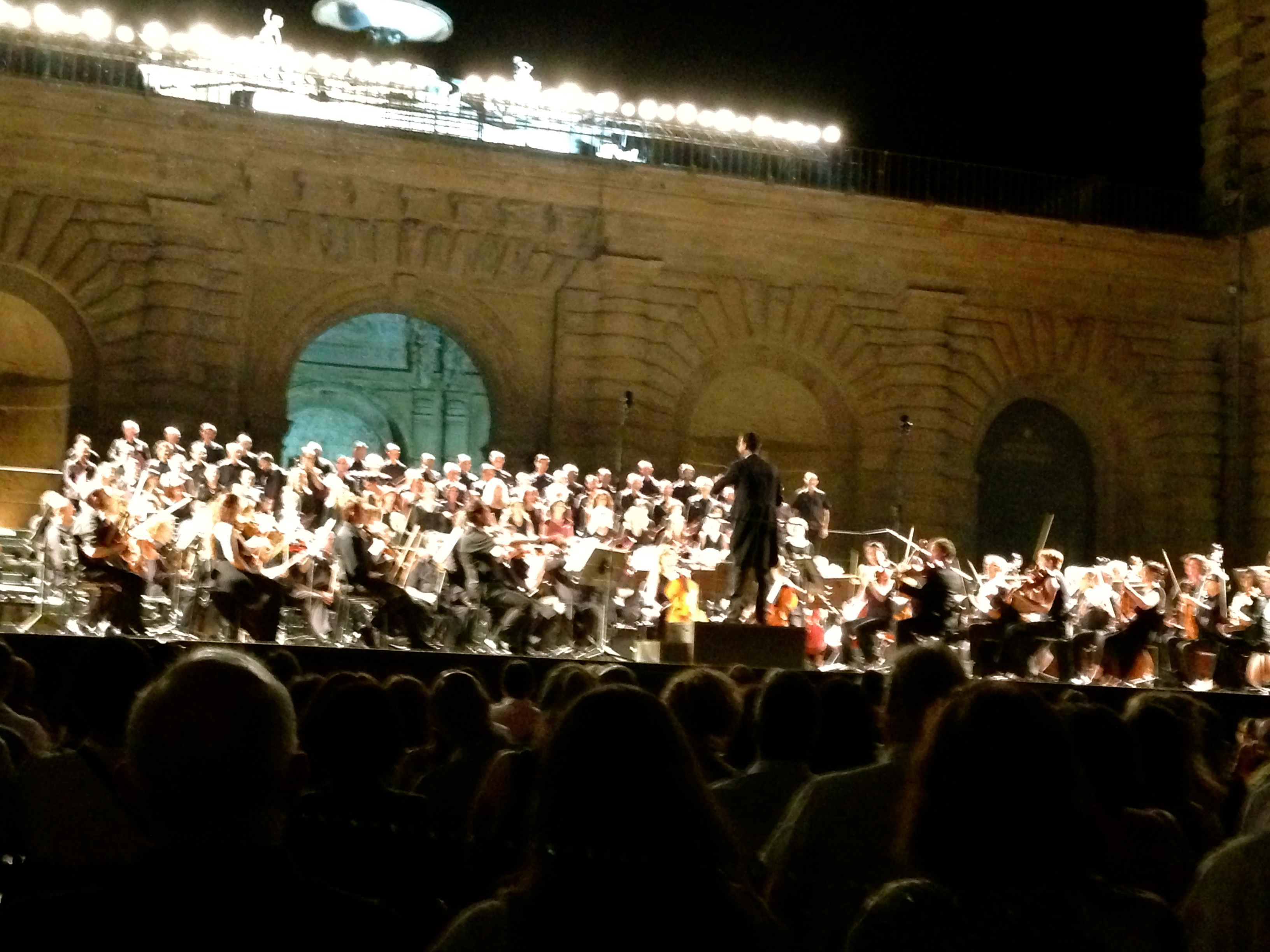 Outdoor Verdi Concert at the Pitti Palace Palazzo Pitti Florence