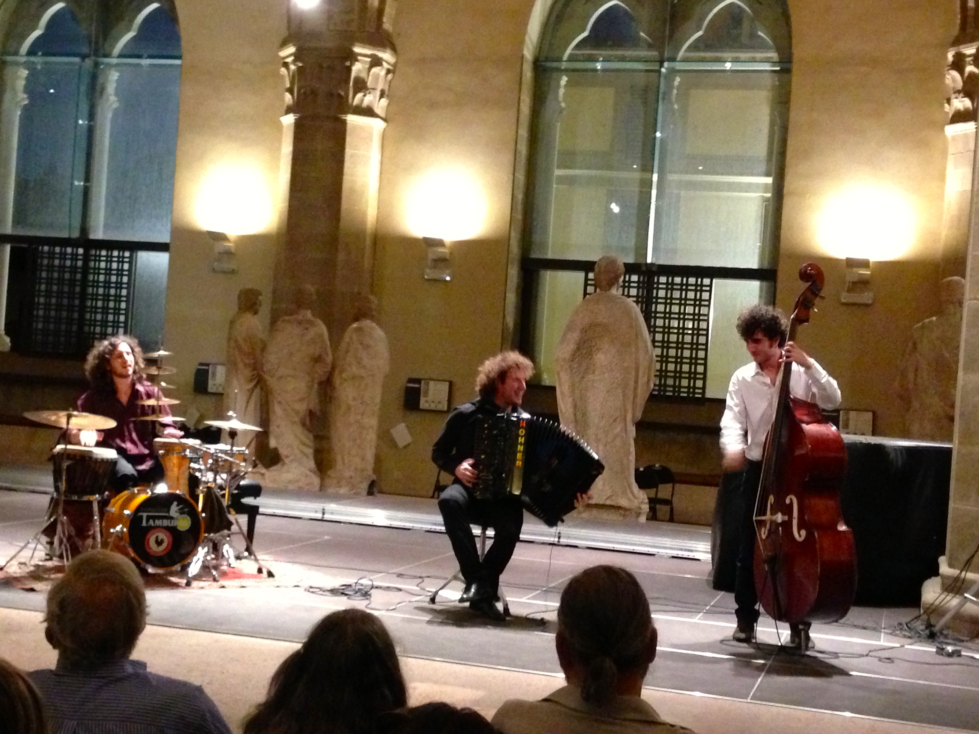 Pietro Adragna Ensemble Accordian Concert at the Museo Orsanmichele Florence