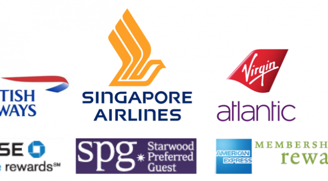 Triple Dipping – Using the Big Three Points Currencies for Awards on British Airways, Singapore Airlines and Virgin Atlantic