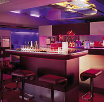 Virgin Atlantic Upper Class Bar