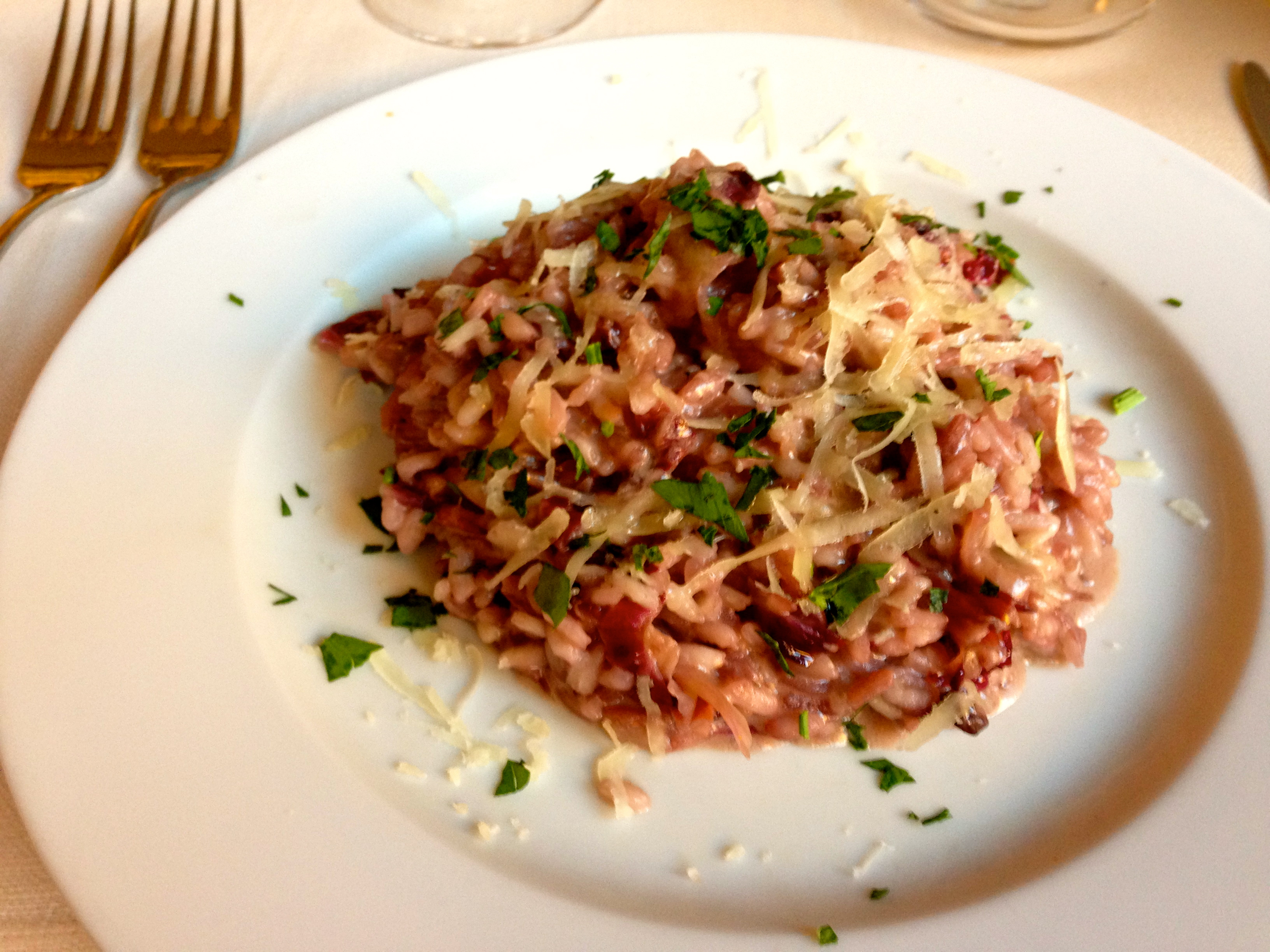 Caffe Pitti Florence Restaurant specializing in truffle dishes
