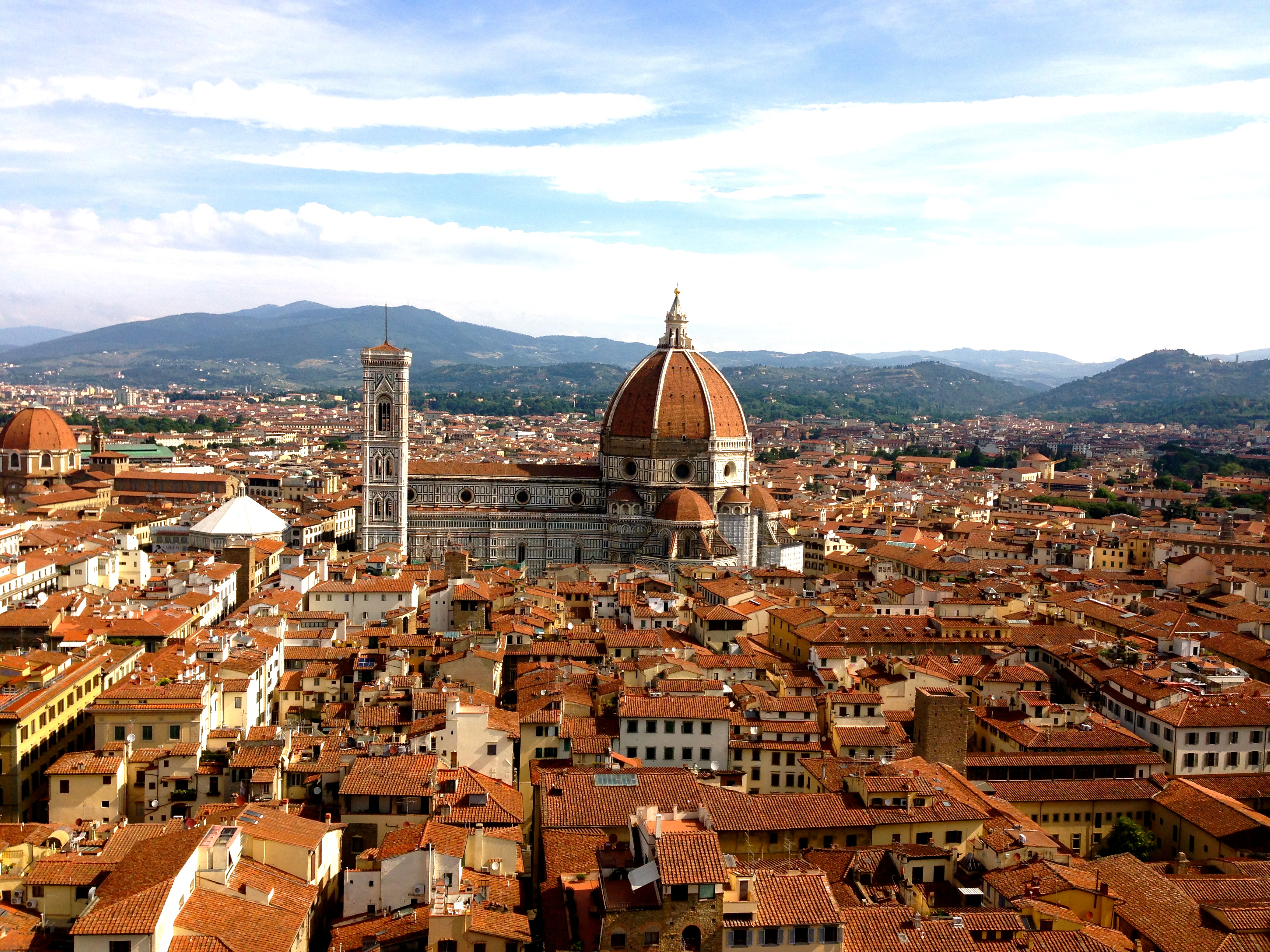 Best Views in Florence Panoramic View of the Duomo from the Tower of the Palazzo Vecchio