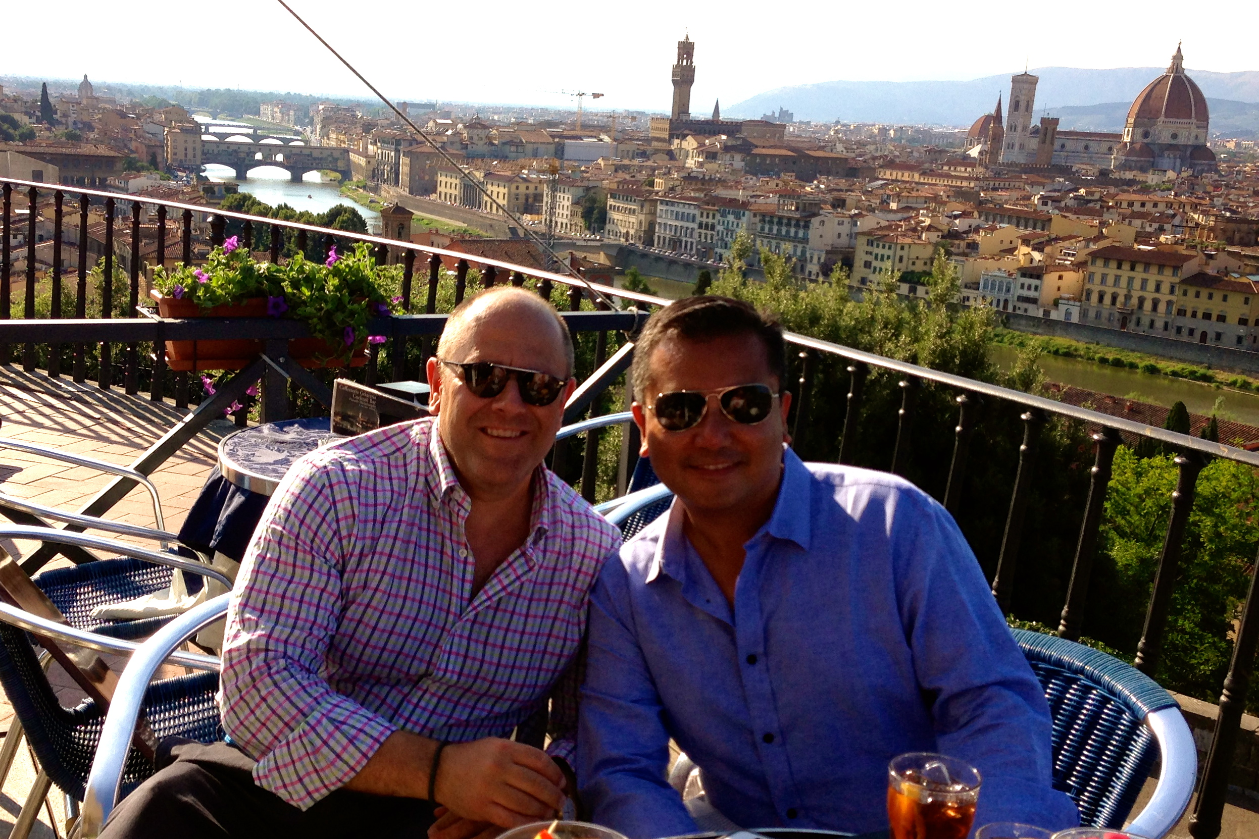 Best Views in Florence VIP's Bar Piazzale Michelangelo Florence for Drinks with a View Firenze