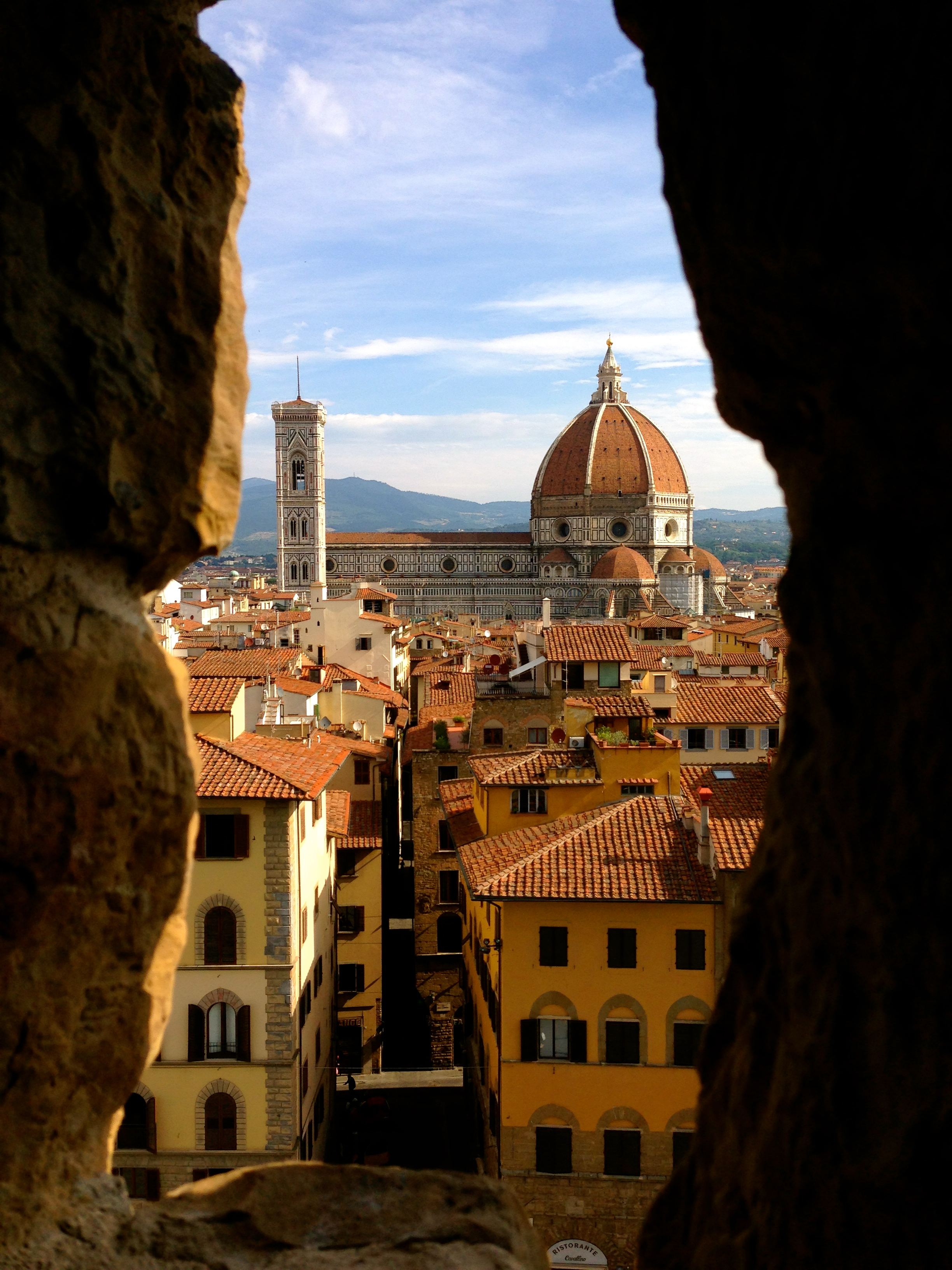 Best Views in Florence View of the Duomo from the Tower of the Palazzo Vecchio