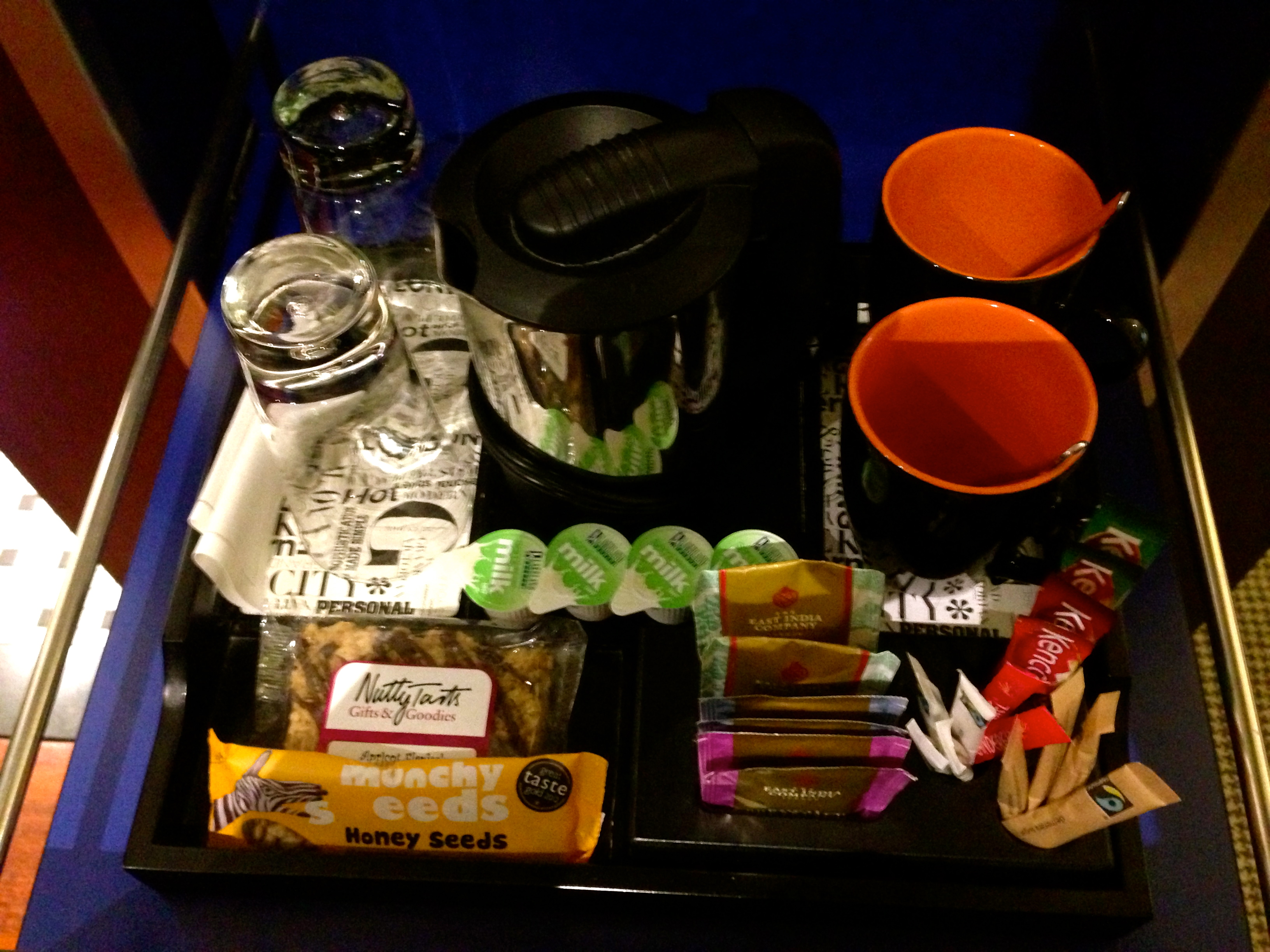 Andaz Liverpool Street London Free Snacks