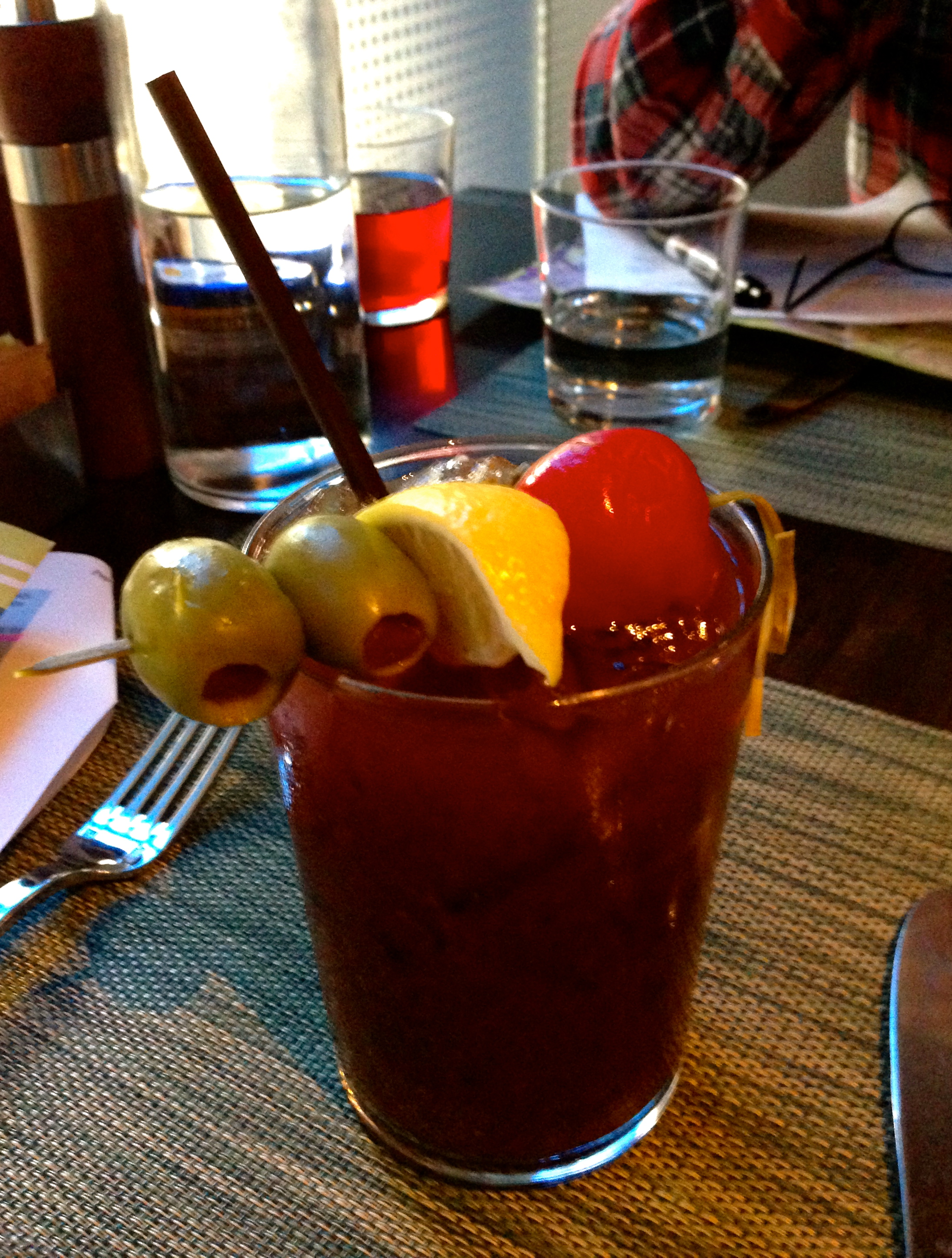 Hyatt at Olive 8 Urbane Restaurant Bloody Mary