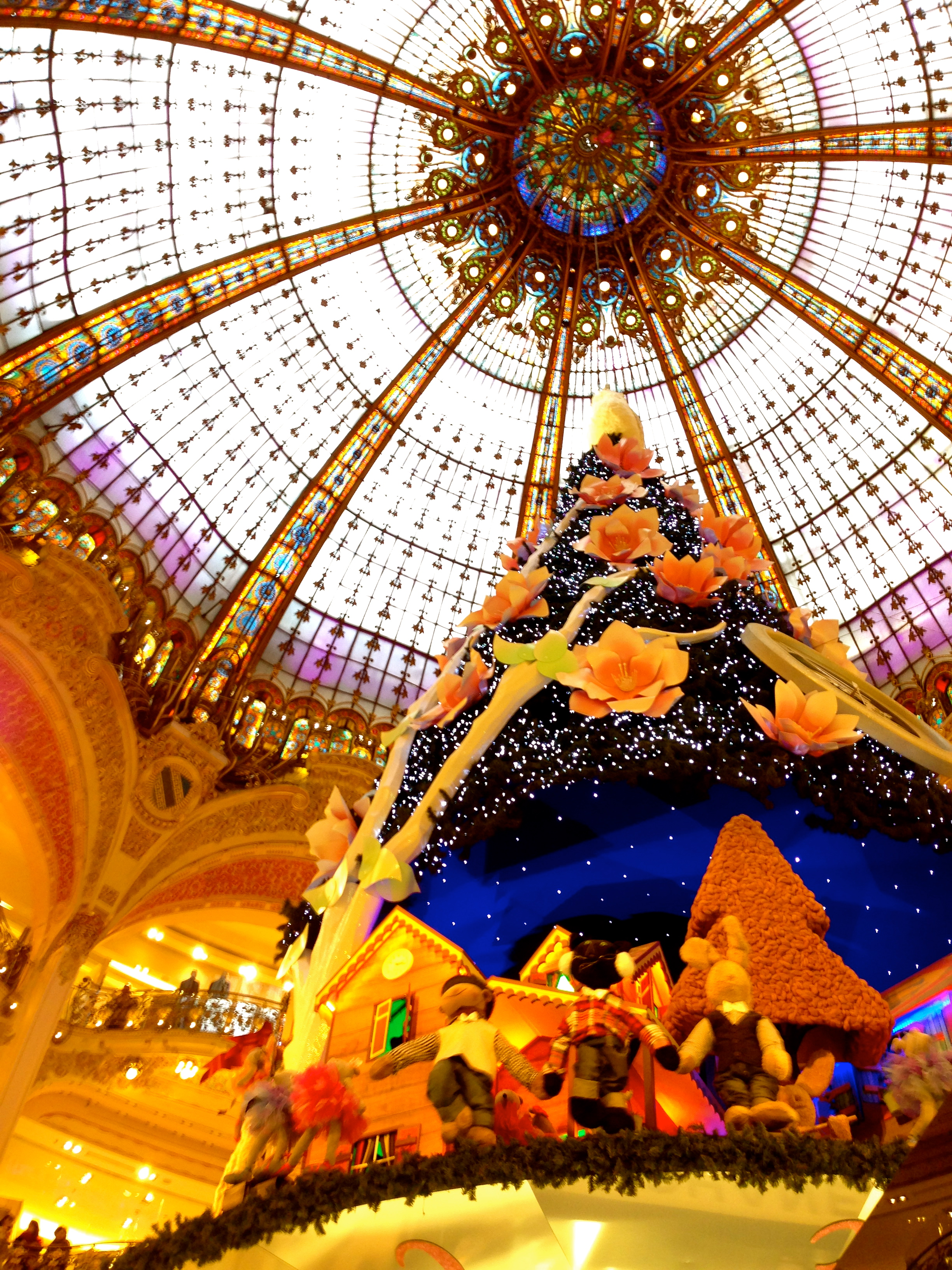 Galleries Lafayette Christmas Tree