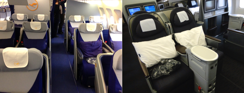 Comparing Lufthansa and United Airlines Business Class