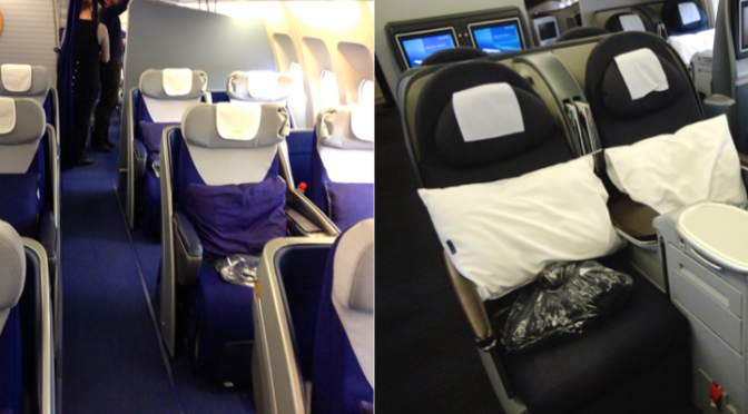 Comparing Lufthansa And United Airlines Business Class Transatlantic To