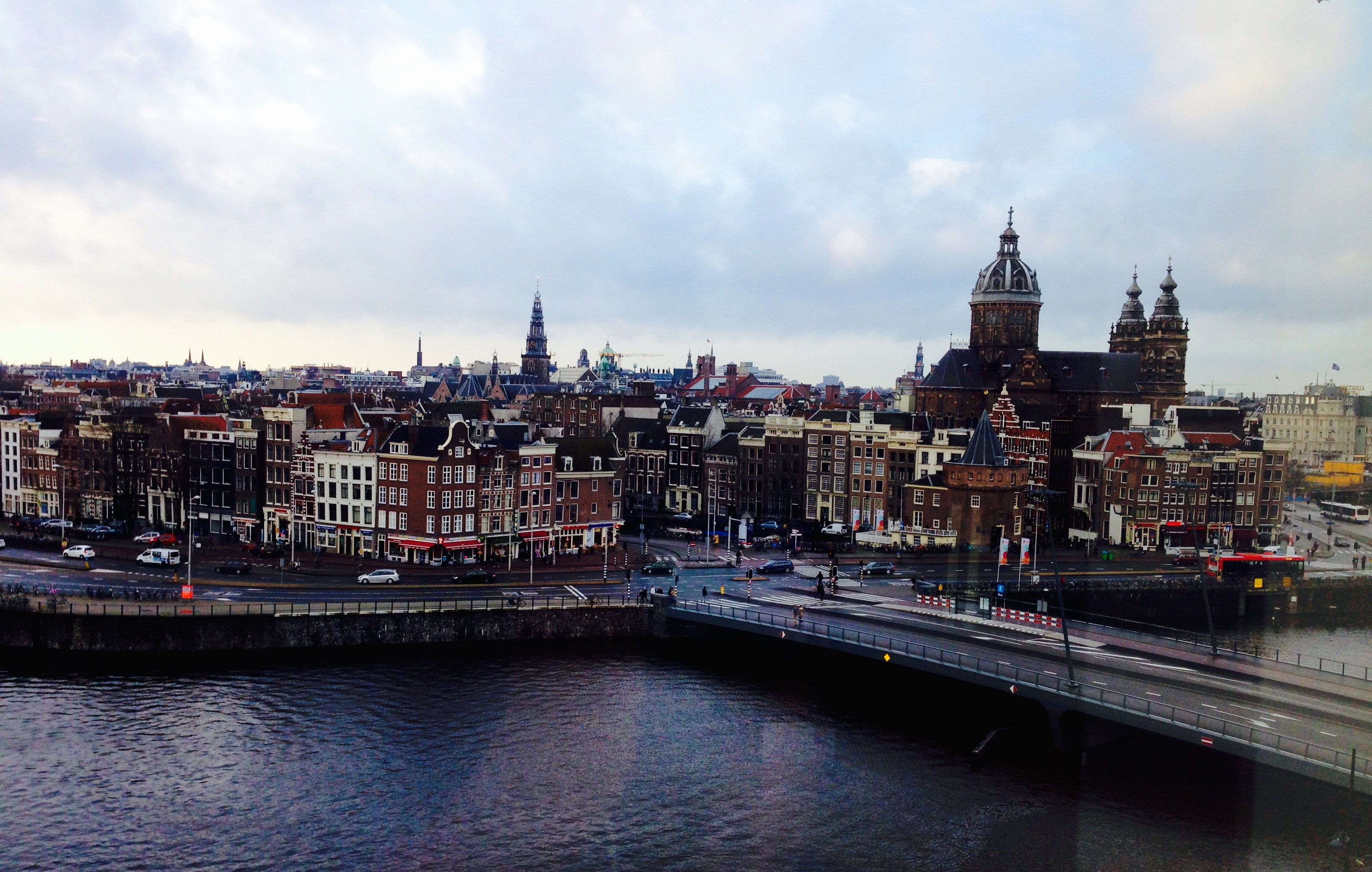 Doubletree by Hilton Amsterdam Centraal Station City View from Room