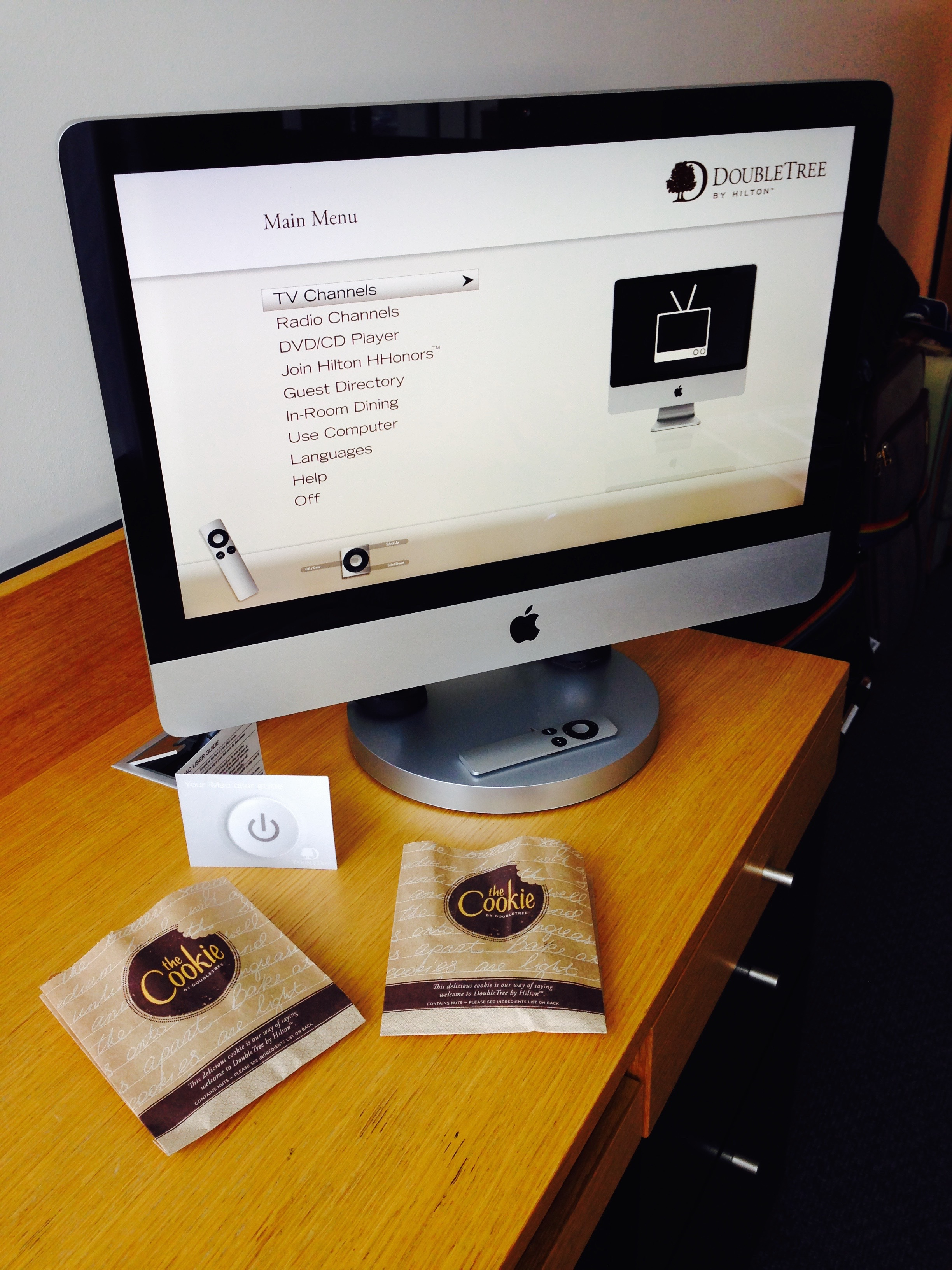 Doubletree by Hilton Amsterdam Centraal Station iMac