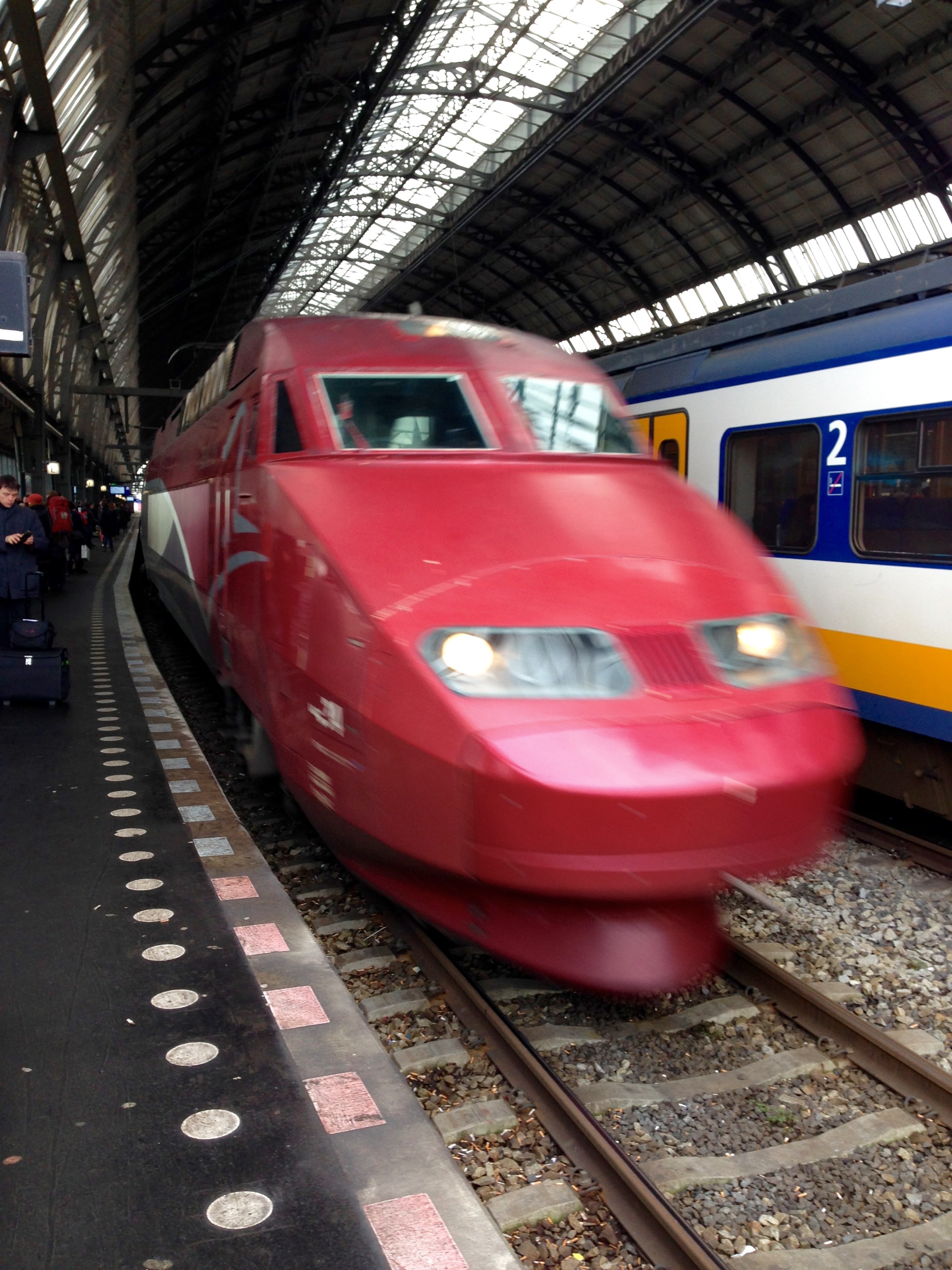 Thalys Amsterdam to Paris Centraal Station