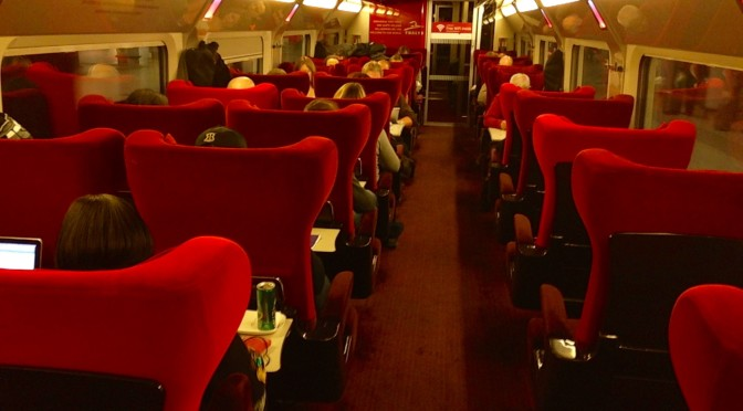 Thalys Comfort 1 Review: From Amsterdam to Paris on the Little Red Riding Train