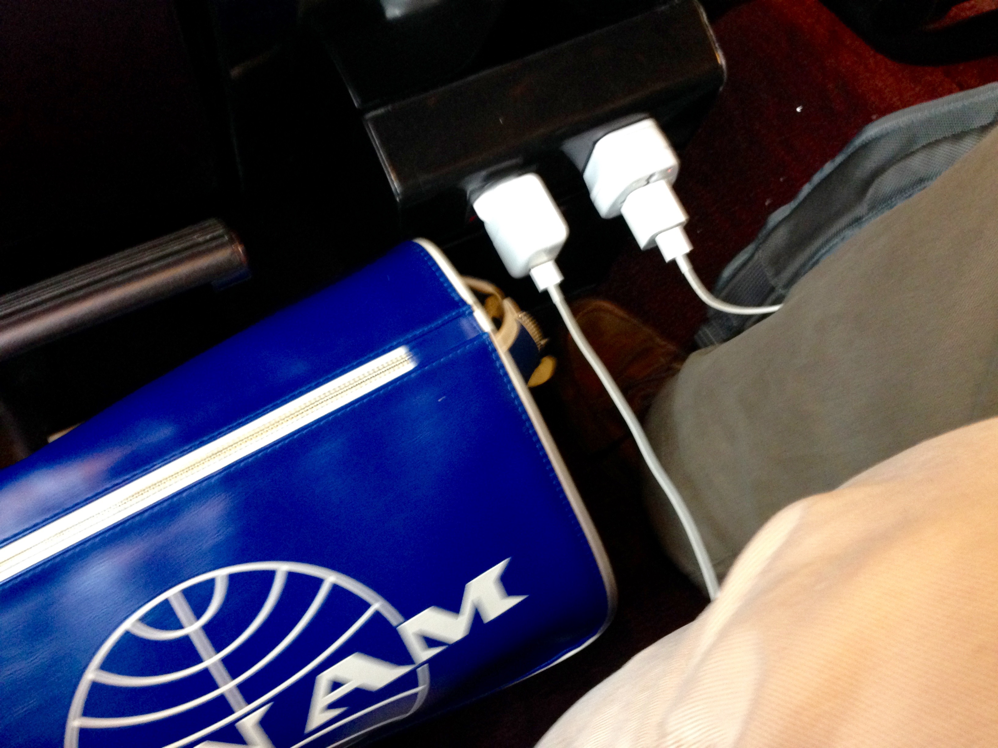 Thalys Comfort 1 In Seat Power Plug Port Amsterdam to Paris