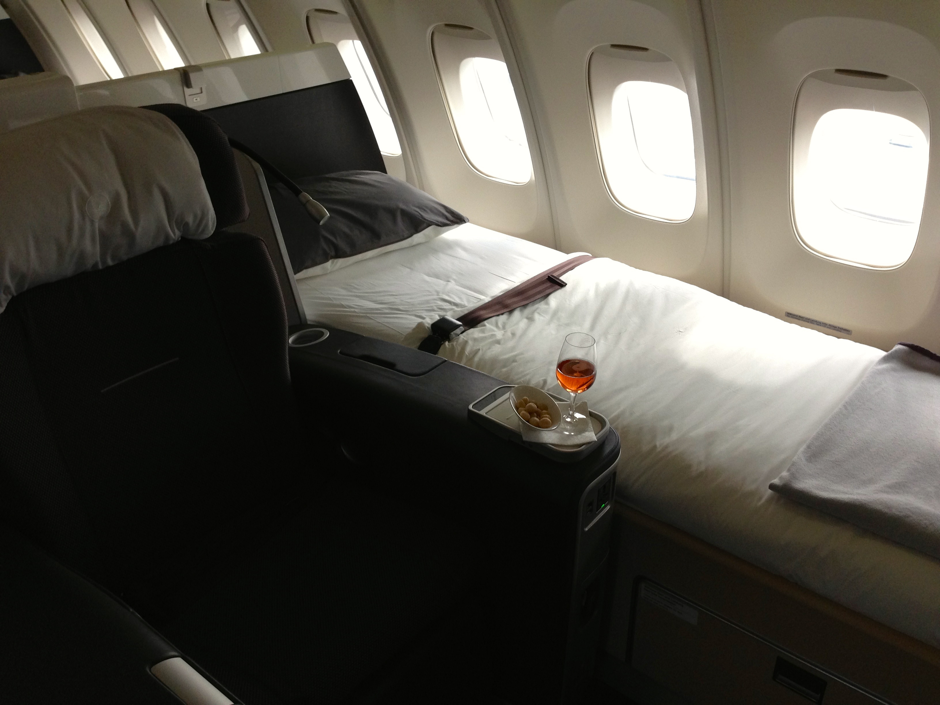 Lufthansa First Class When Will The Honeymoon End From Point A To